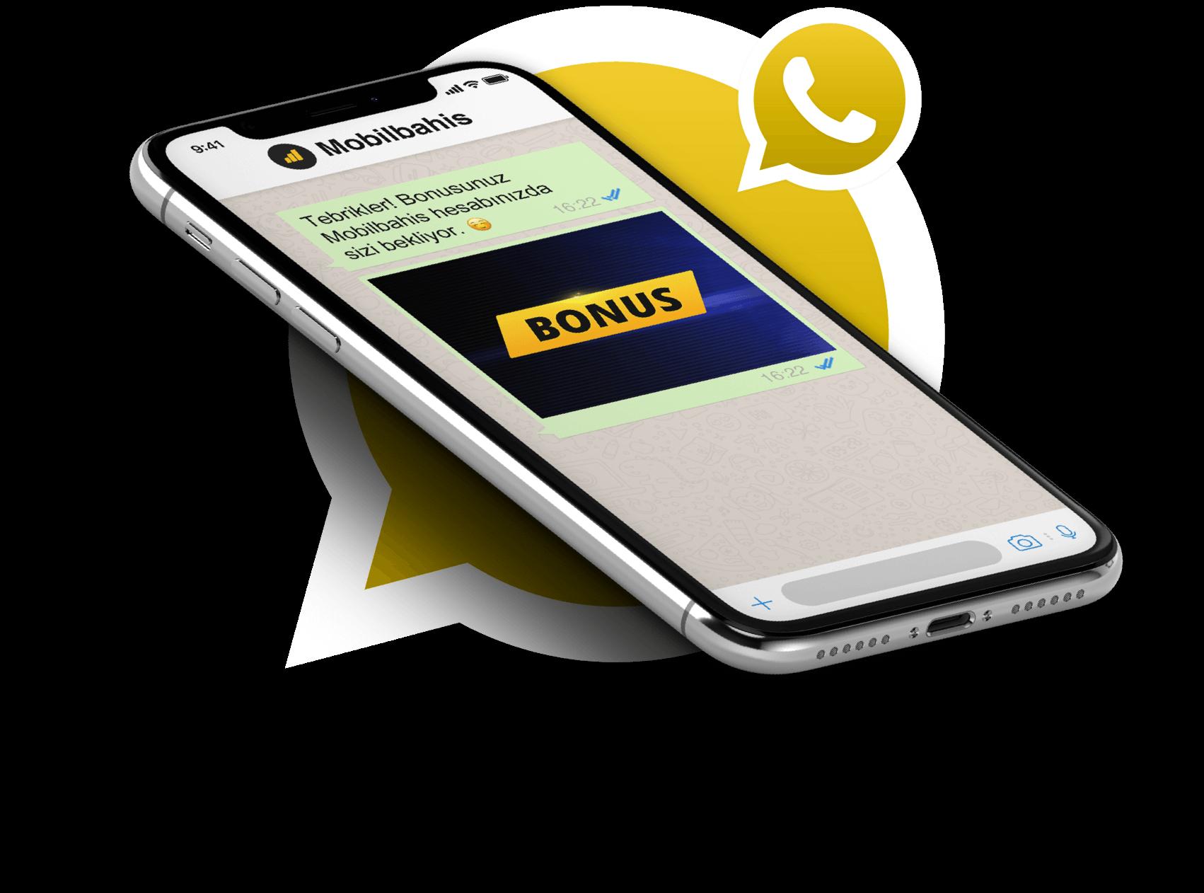 Whatsapp ile Bedava Bahisler, Mobilbahis sitesinde günün her saati bir bonus sürprizi ile karşılaşabilirsiniz.