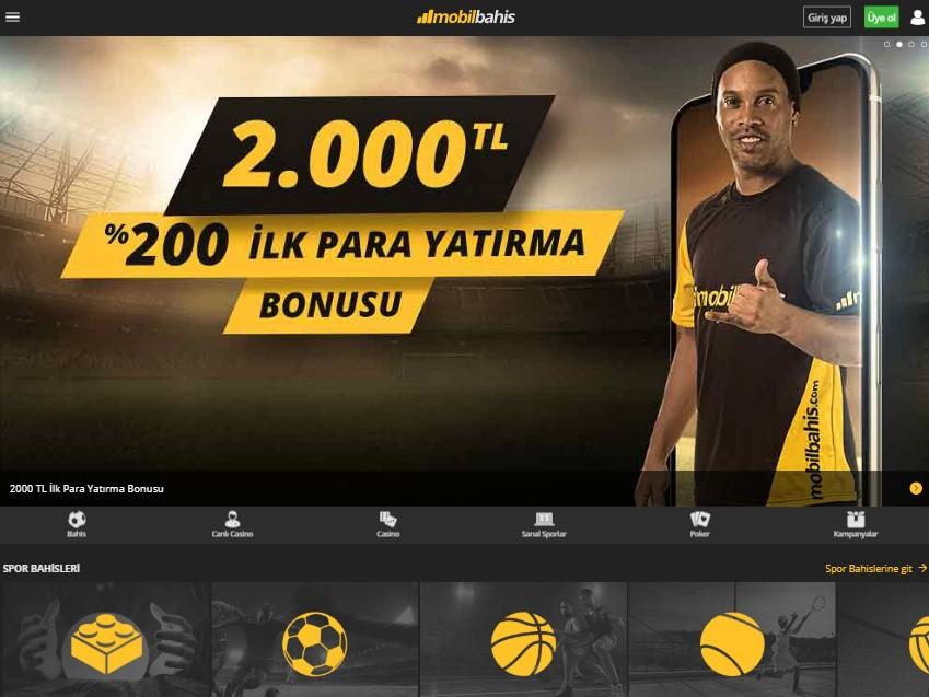 Mobilbahis, 2000 TL bonus imkanı mobilbahis sitesinde.